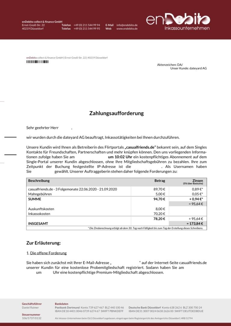 Mahnung Schreiben Kostenlose Mahnungsvorlagen 12
